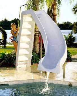 Eligiendo toboganes para la pileta arquitectura y decoraci n for Decoracion de parques con piletas