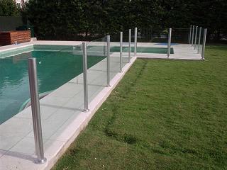 Cerco perimetral para piscinas