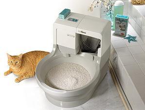 Cajas para los excrementos del gato
