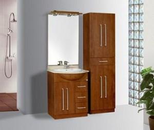 Elegir los muebles y gabinetes para el baño
