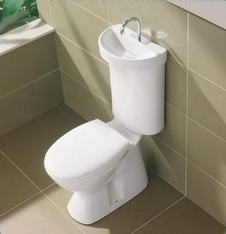 Eligiendo el nuevo inodoro