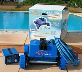 Limpiador automático para piscina