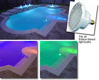 Iluminación en piscinas como método de seguridad