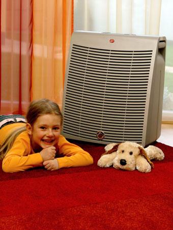 Purificador de aire hogareño