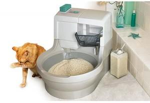 Cajas para desechos de gatos.