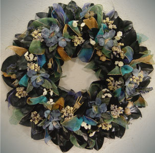 Fabricando coronas de flores secas arquitectura y decoraci n - Adornos flores secas ...