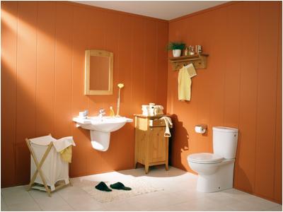 Los reboques coloridos para el ba o arquitectura y for Fotos banos modernos para casa