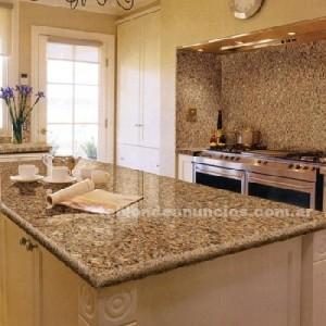 Mesadas de cocina usar o no usar granito arquitectura for Fotos de colores de granito