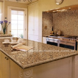 Mesadas de cocina usar o no usar granito arquitectura - Colores de granito para encimeras de cocina ...