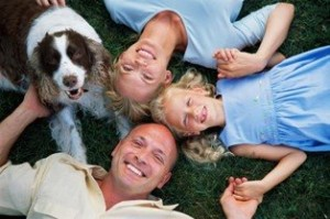 Los perros y la familia
