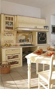 El estilo toscano en la cocina