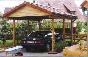 La construcción del garage