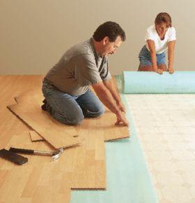 Pisos de madera laminados sin pegamento for Como instalar suelo laminado