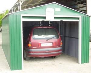 Construcción de garajes de acero