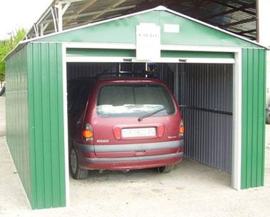 Planos de construcci n de garajes de acero arquitectura - Garajes de diseno ...