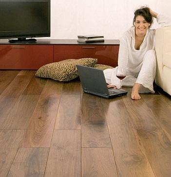 Reparando sus pisos de madera dura - Como poner un suelo de madera ...