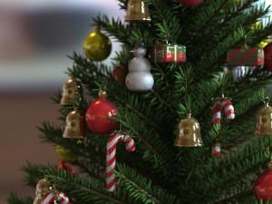 El árbol navideño
