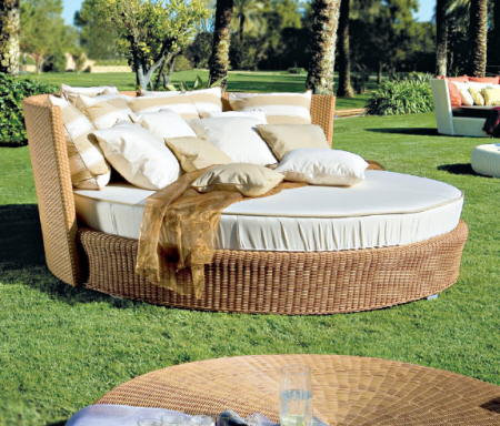Qué maderas se usan para muebles de jardín?