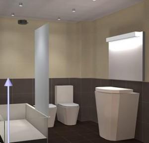 Iluminando el cuarto de baño - Arquitectura.com.ar