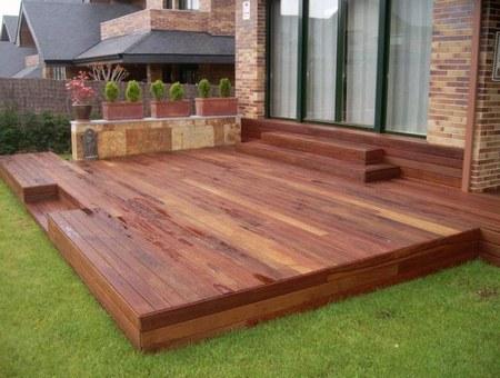 Sabes que es el decks te gustaria tenerlo en tu casa for Jardines verticales con madera