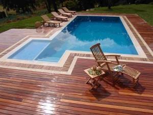 Muelles para piscina
