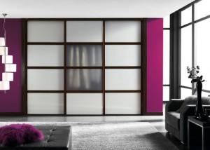 Diseño en armarios para la habitación