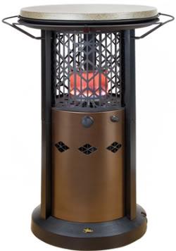 Instalando un calentador a gas para el patio for Calentadores para jardin