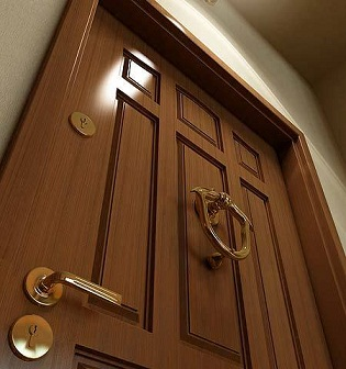 Cambio de dispositivos de las puertas para la seguridad for Manijas para puertas de madera
