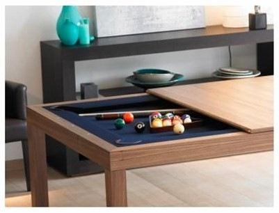 Instalando cobertores de mesas de billar - Mesas de arquitectura ...