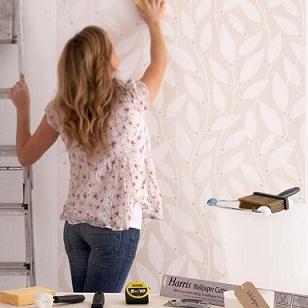 Pintar sobre un empapelado for De que color de papel tapiz para un corredor