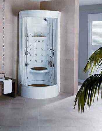 Instale duchas verticales sin puertas - Arquitectura.com.ar