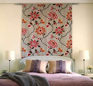 Paneles de tela para decorar paredes arquitectura y decoraci n - Telas para decorar paredes ...